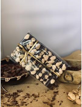 Tabletón de Chocolate puro con Almendras
