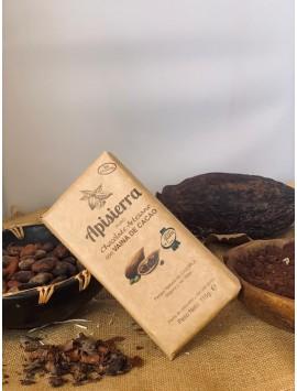 Chocolate puro con semilla de cacao