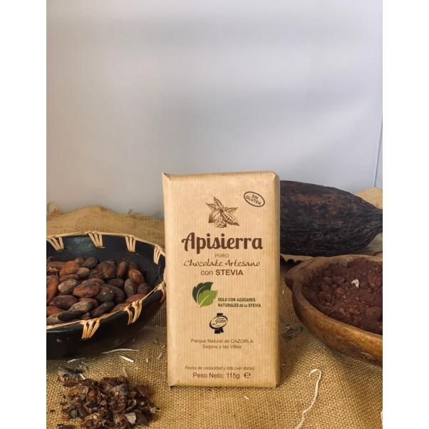 Chocolate puro con Stevia