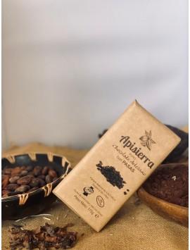 Chocolate puro con pasas