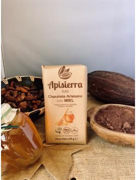 Chocolate puro con miel