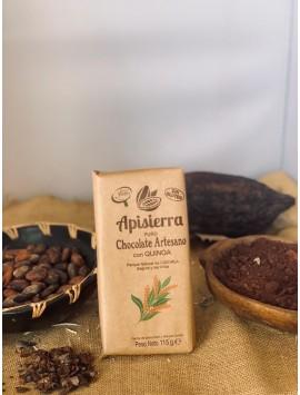 Chocolate puro 70% con quinoa 115 r.